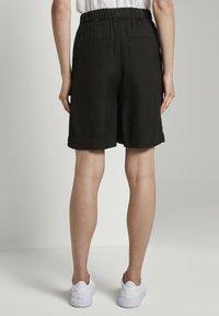 TOM TAILOR - Shorts - deep black - 2