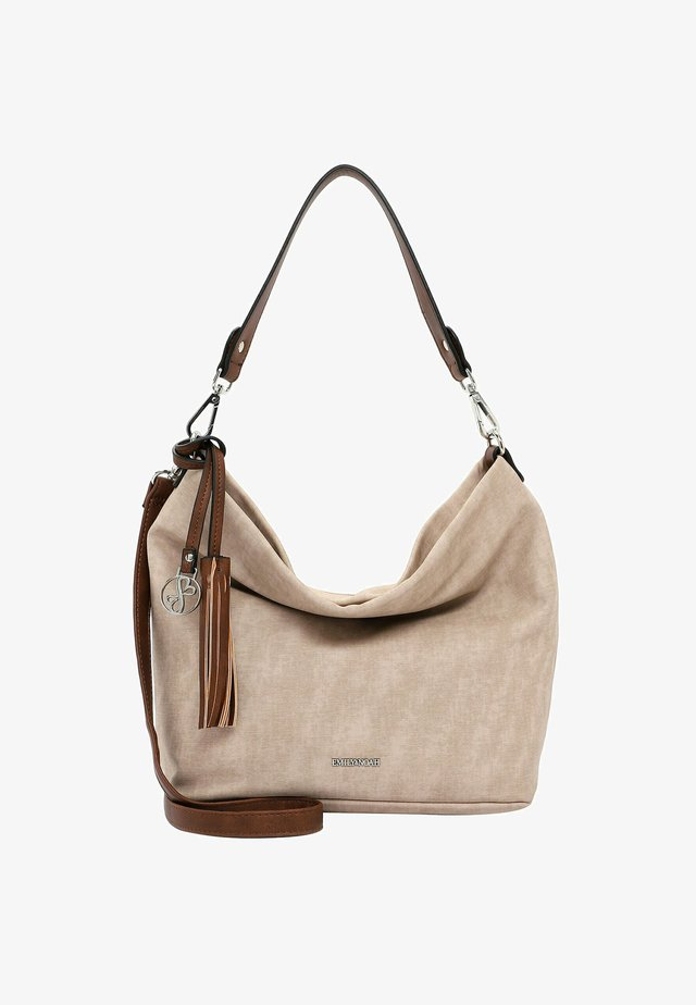 ELKE - Handbag - sand