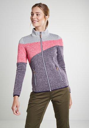 ALTOONA - Zip-up hoodie - brombeere