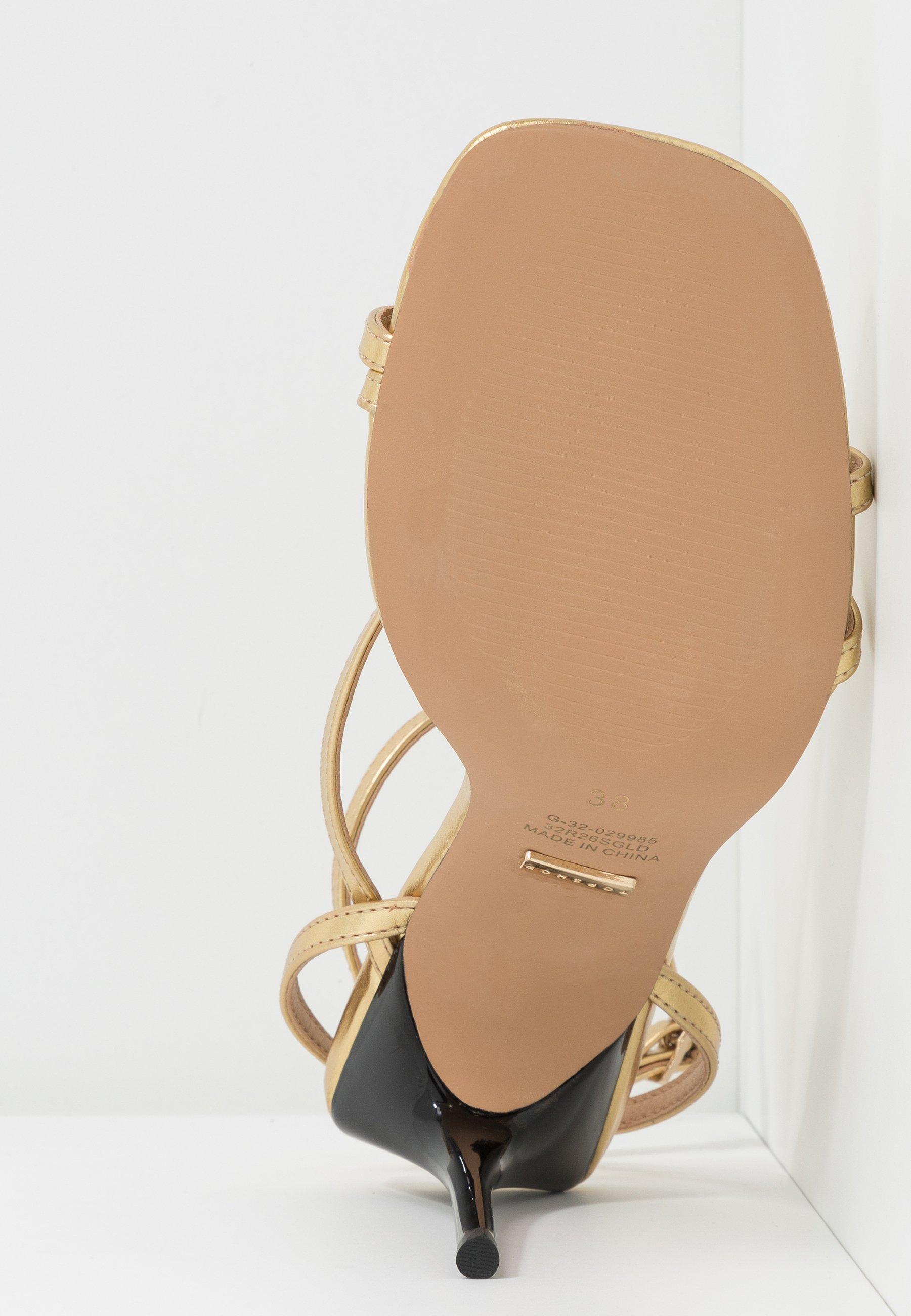 RISE STRAPPY Sandaletter gold
