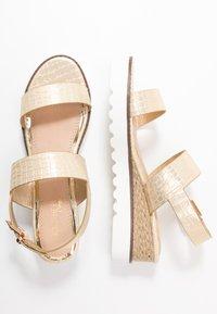 Head over Heels by Dune - KYE - Platform sandals - gold - 3