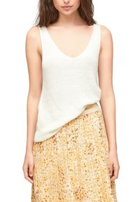 s.Oliver - Top - offwhite - 5