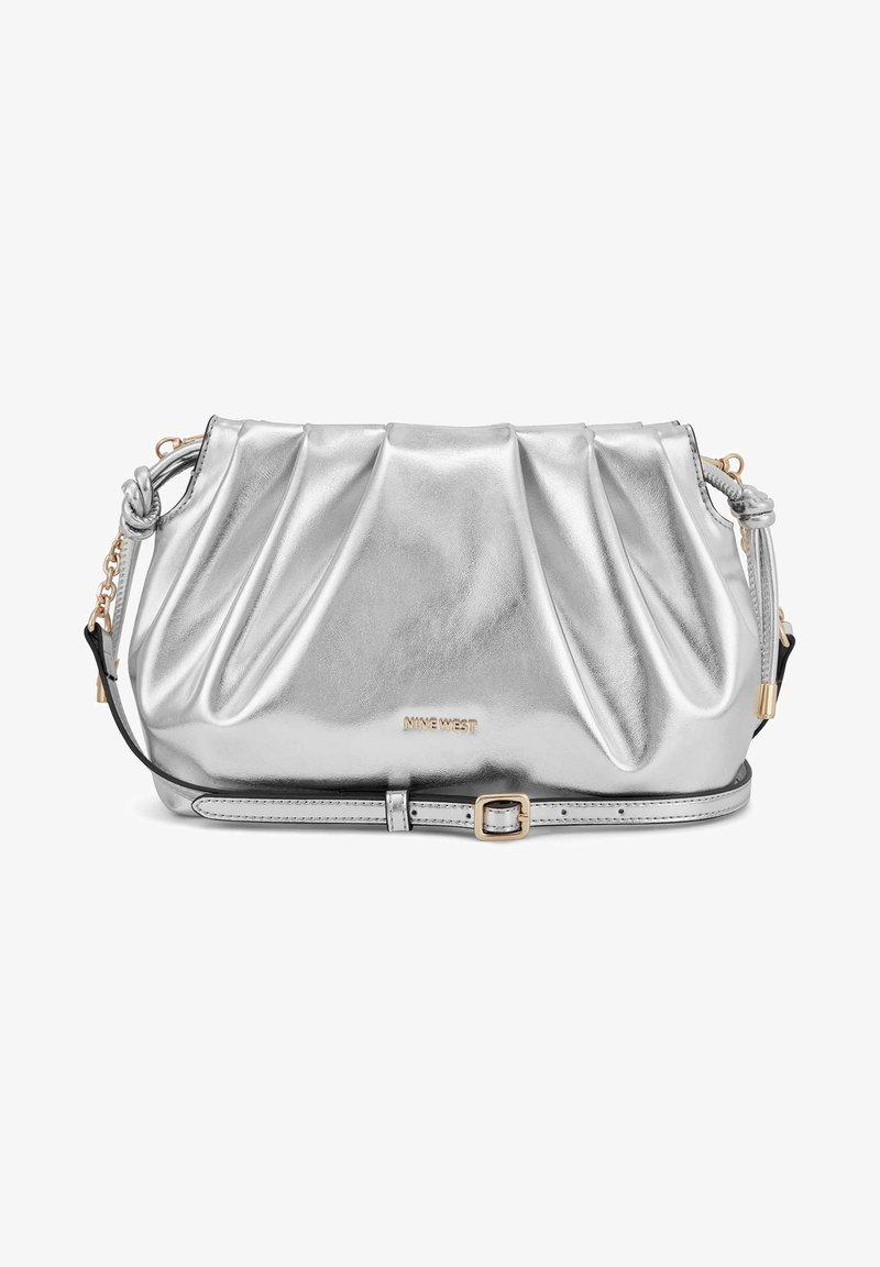 Nine West - Across body bag - silver