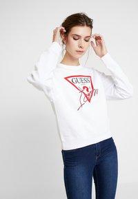 Guess - BASIC ICON  - Sweatshirt - true white - 0