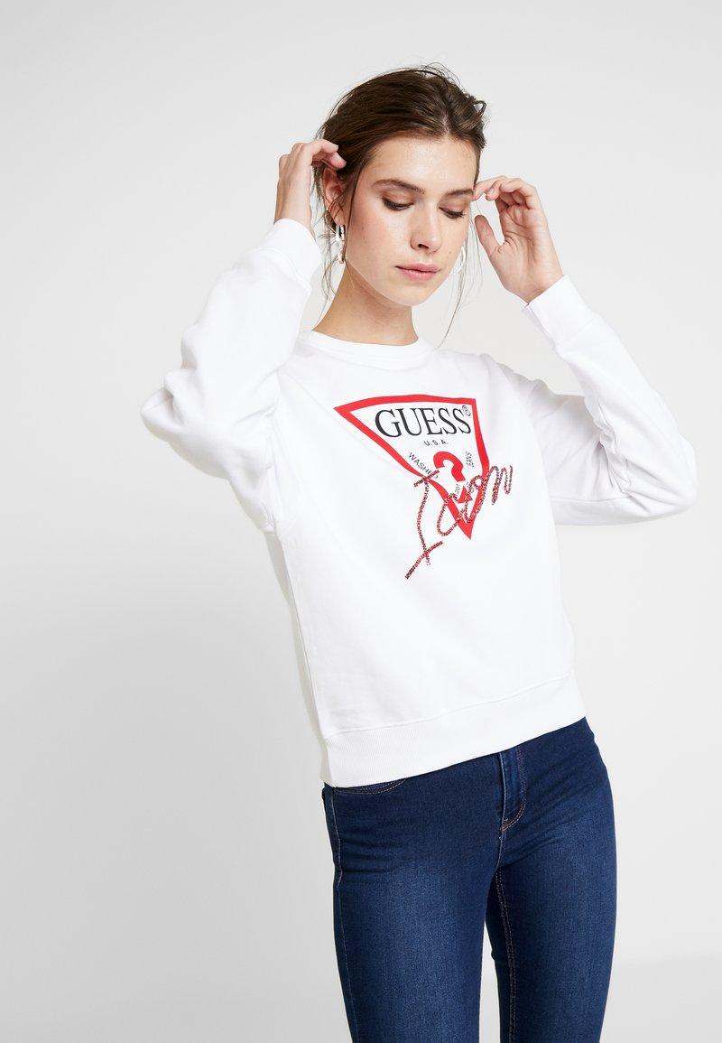 Guess - BASIC ICON  - Sweatshirt - true white