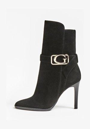 TECA  - Laarzen met hoge hak - zwart