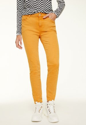 Jeans Skinny Fit - curry