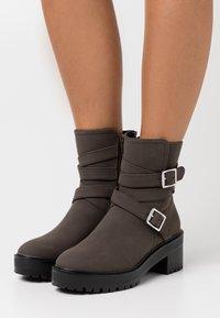 Even&Odd - Winter boots - dark brown - 0
