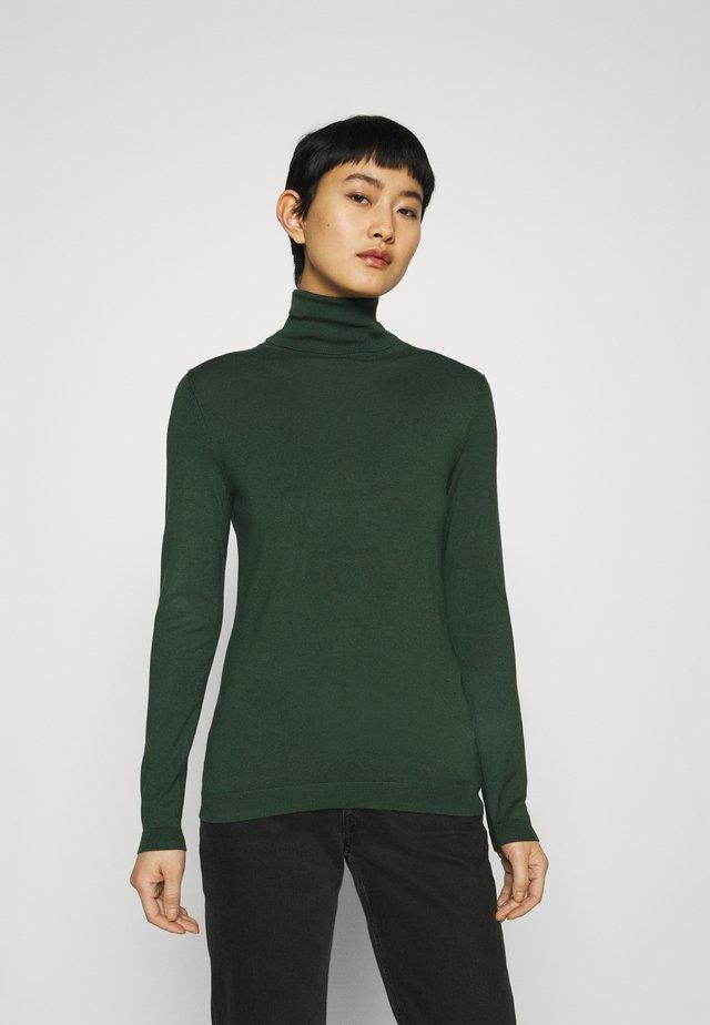 Strickpullover - dark green