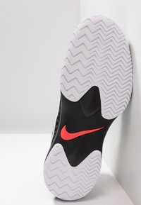 Nike Performance - AIR ZOOM CAGE - Clay court tennis shoes - black/white/bright crimson - 4