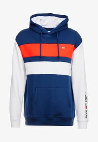 Tommy Jeans - COLORBLOCK HOODIE  - Sweat à capuche - black iris - 3