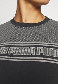 Puma - EVOSTRIPE TEE - Topper langermet - black - 5