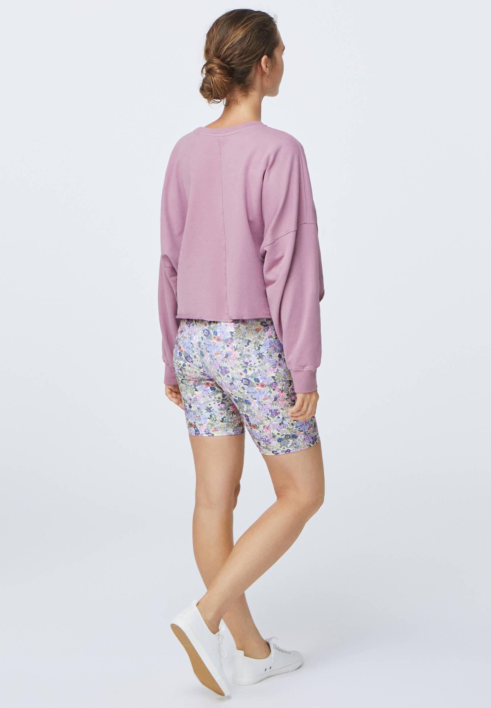 OYSHO CROPPED - Sweatshirt - rose SnhoW