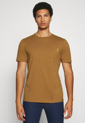 T-shirt basic - tobacco