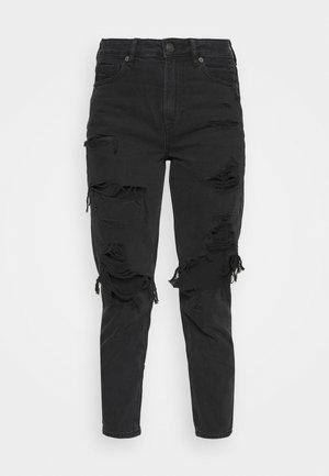 Slim fit jeans - destroyed black