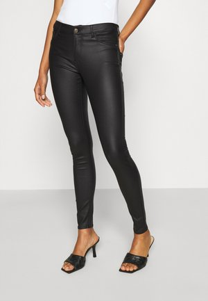 NEW THUNDER - Jeansy Skinny Fit - black