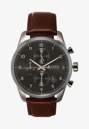 SKYMASTER - Chronograph watch - braun