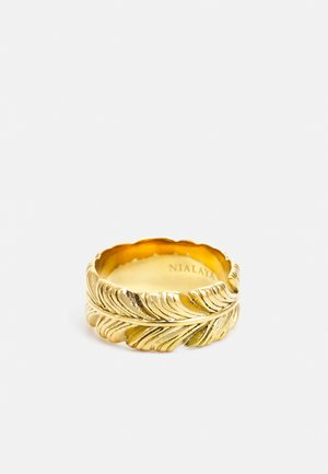 FEATHER  - Anello - gold-coloured