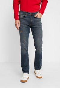 Pier One - Straight leg jeans - blue denim - 0
