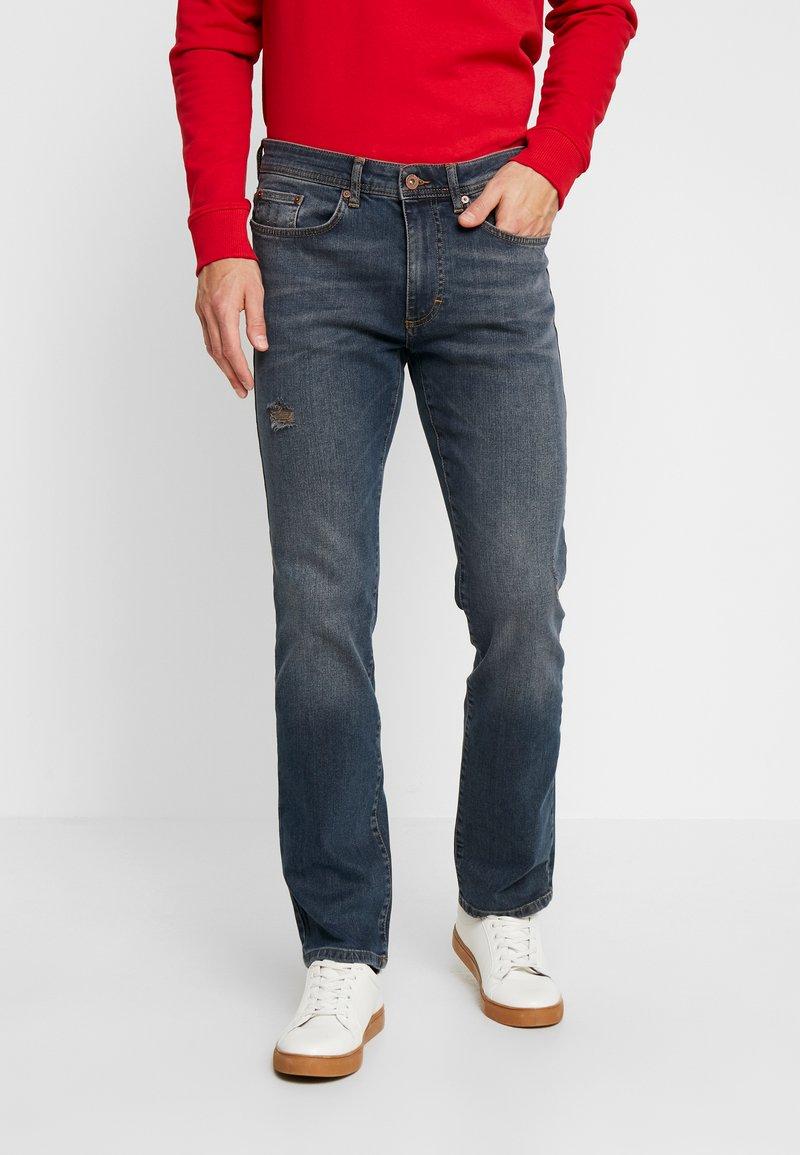 Pier One - Straight leg jeans - blue denim