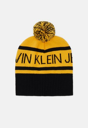 INSTITUTIONAL LOGO BEANIE UNISEX - Čepice - yellow