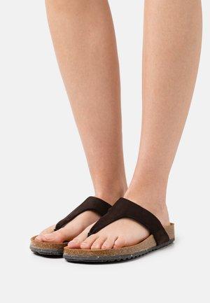T-bar sandals - mineral