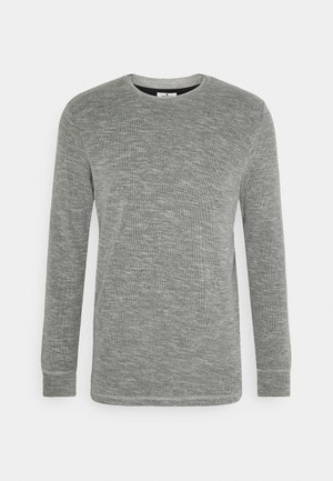 LONGSLEEVE - Pullover - middle grey melange