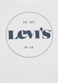 Levi's® - HIGH RISE - T-shirt med print - white - 2