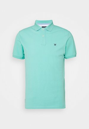 SLIM FIT LOGO - Polo - pool blue