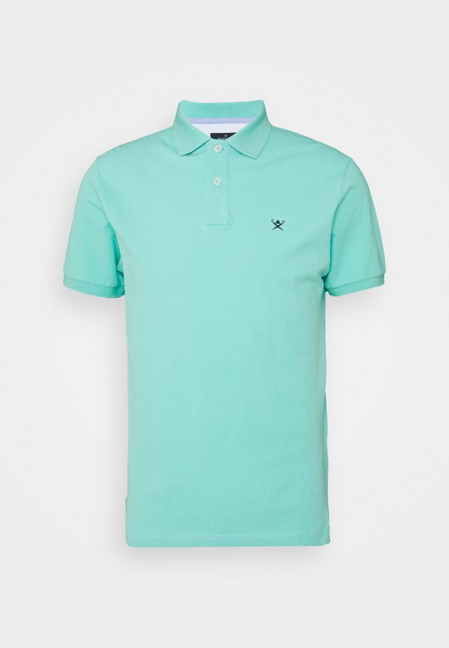 SLIM FIT LOGO - Poloshirt - pool blue