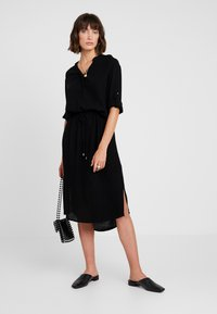Soaked in Luxury - ZAYA DRESS - Day dress - black - 1
