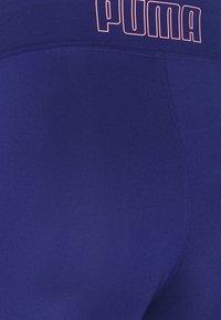 Puma - TRAIN FAVORITE BIKER SHORT - Medias - elektro blue - 5