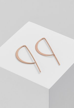 CLASSIC - Earrings - rose gold-coloured