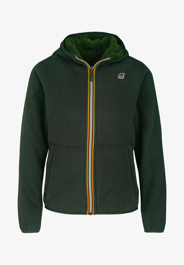 JAQUES  - Fleece jacket - green dk-green dk forest