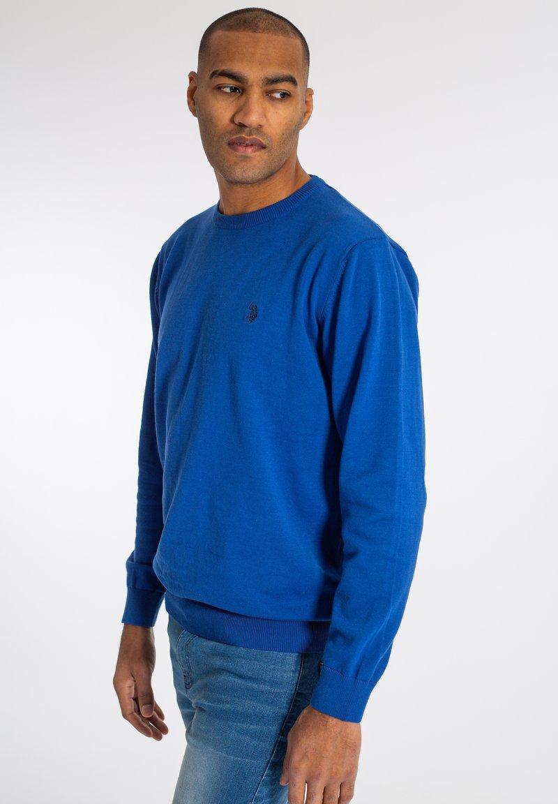 U.S. Polo Assn. - ADAIR - Sweter - monaco blue