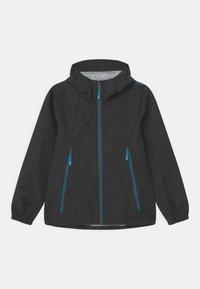 CMP - KID FIX HOOD - Waterproof jacket - antracite - 0
