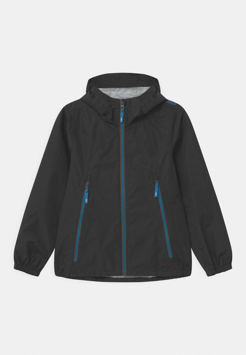 CMP - KID FIX HOOD - Waterproof jacket - antracite