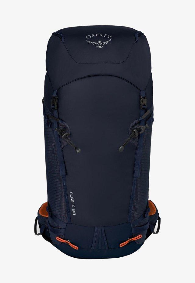 Hiking rucksack - blue fire