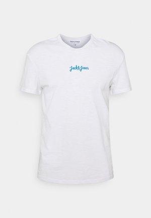 JORSTOCKHOLM TEE CREW NECK - T-shirt med print - white