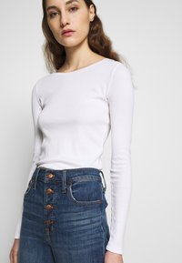 Madewell - PERFECT VINTAGE BUTTON FRONT - Straight leg jeans - barnsdale wash - 3