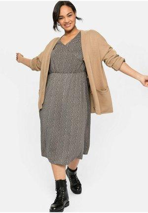 Jersey dress - steingrau