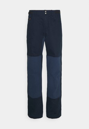SVALBARD PANTS - Tygbyxor - indigo night