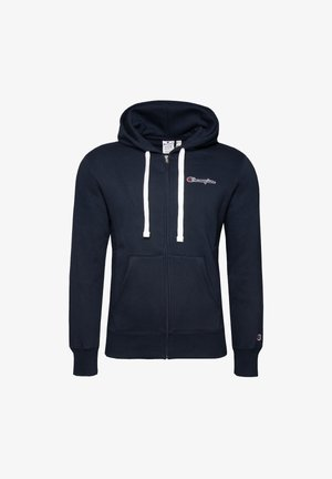 FULL ZIP - Zip-up sweatshirt - dark blue