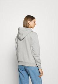 Converse - WOMENS FOUNDATION FULL ZIP HOODIE - Zip-up hoodie - grey - 2