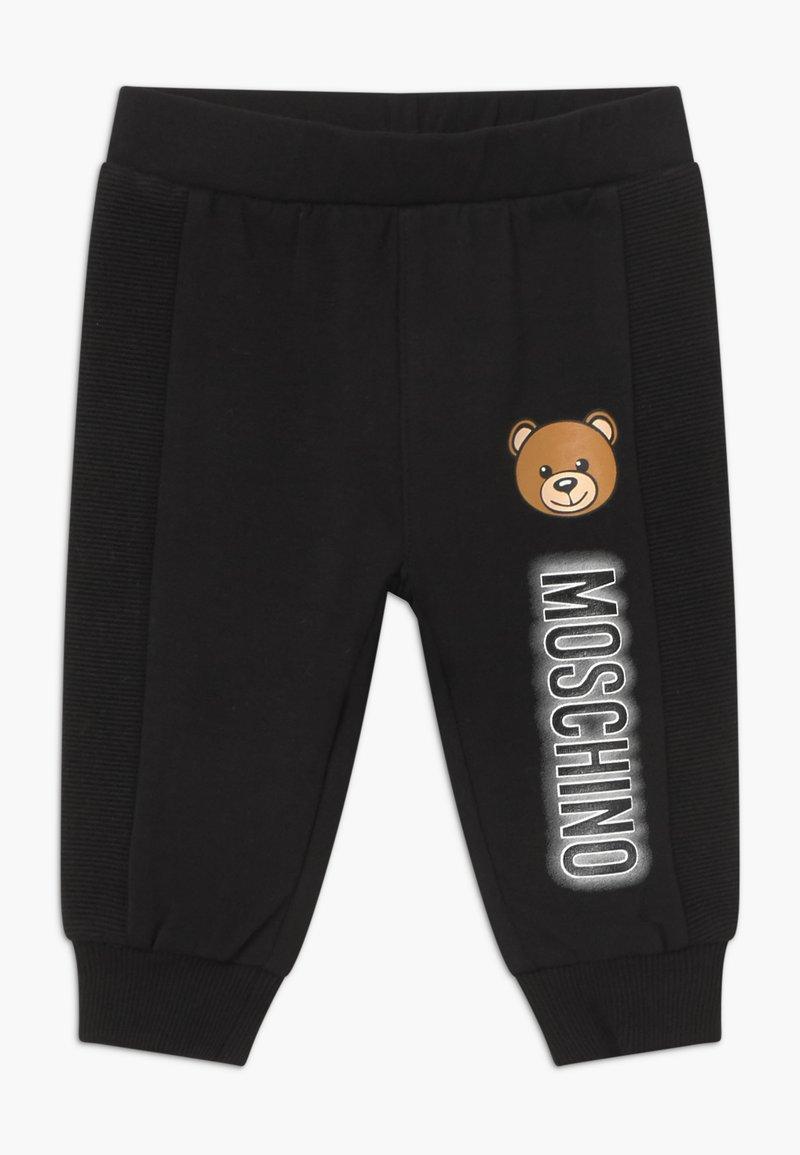 MOSCHINO - UNISEX - Stoffhose - black