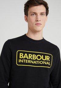 Barbour International - LARGE LOGO - Sweatshirt - black - 4