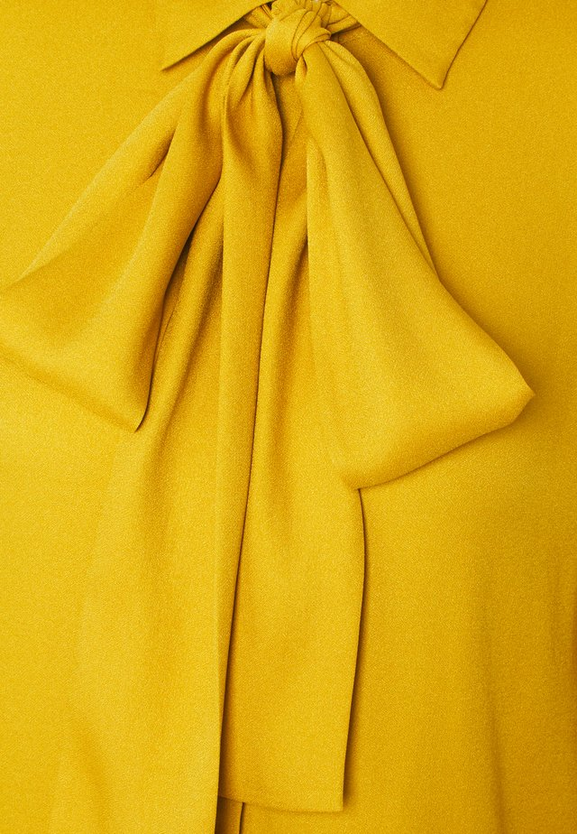 ERELLA - Button-down blouse - dark yellow