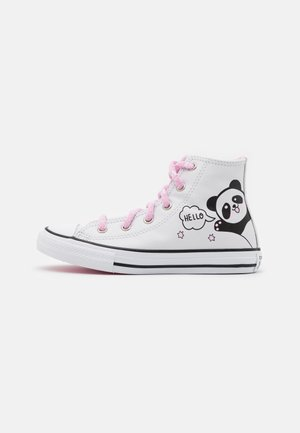 CHUCK TAYLOR ALL STAR - High-top trainers - white/black/pink glaze