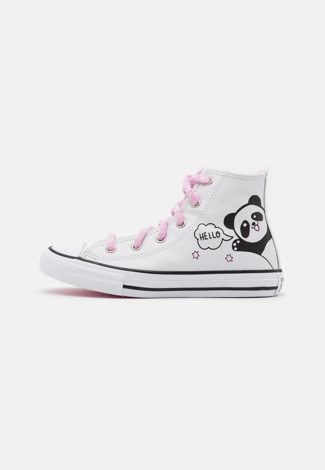 CHUCK TAYLOR ALL STAR - Sneaker high - white/black/pink glaze