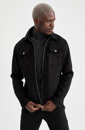 HEMDJACKE - Light jacket - black